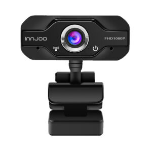 WEBCAM INNJOO CAM01 NEGRA FULL HD 30FPS USB 2.0 - IJ-WEBCAM01-BLK